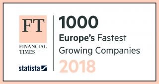 FT 1000 Europe's Fastest Growing Companies 2018