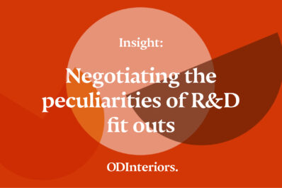 Insight: Negotiating the peculiarities of R&D fit outs